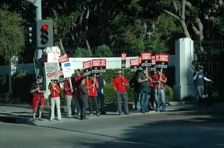 Zdjęcie protestujących